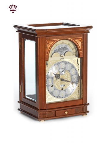 president-mantel-clock-walnut