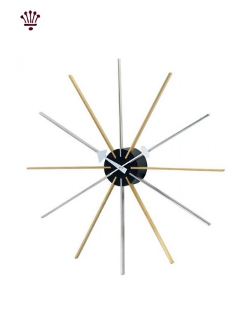 star-wall-clock