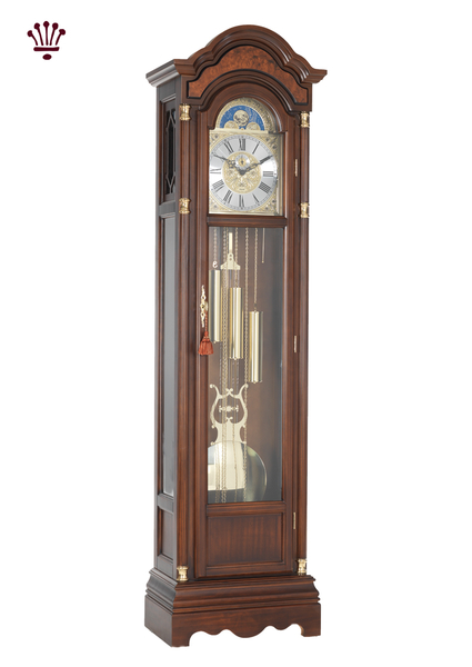 remington-grandfather-clock-walnut