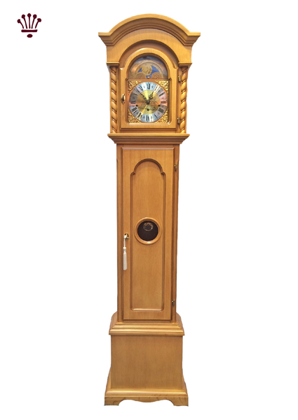 corinthian-grandmother-clock-oak