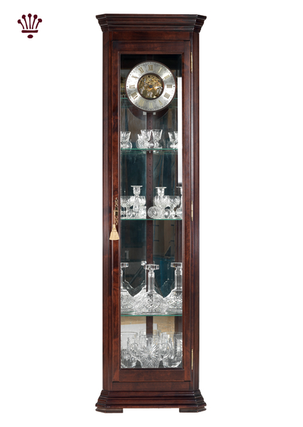 amber-grandfather-clock